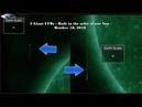 2 Гигантских НЛО - Стержни на орбите нашего Солнца - 18 октября 2018