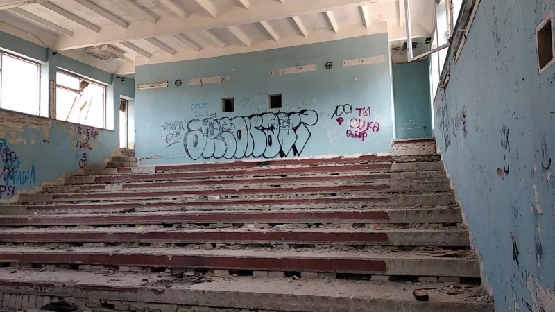 школа, которой нет. (бывшая 23 шк. в г. Харцызск)автор Д. Головков
