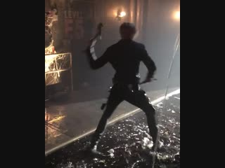 Jace with axes BTS 3b