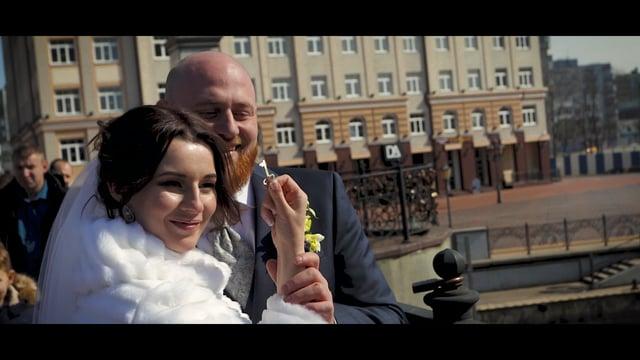 ПОЛИНА и КОСТЯ (wedding short movie, March, 31, 2017)