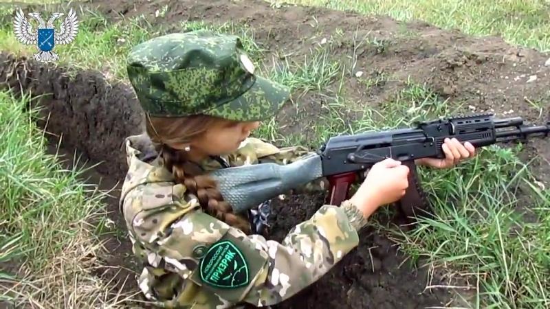 Богдана Нещерет с приветом для Партизан оккупированного ВСУ Донбасса