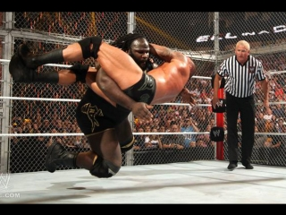 (WWE Mania) Hell in a Cell 2011 Randy Orton vs Mark Henry(c) - World Heavyweight Championship (Hell in a Cell Match)