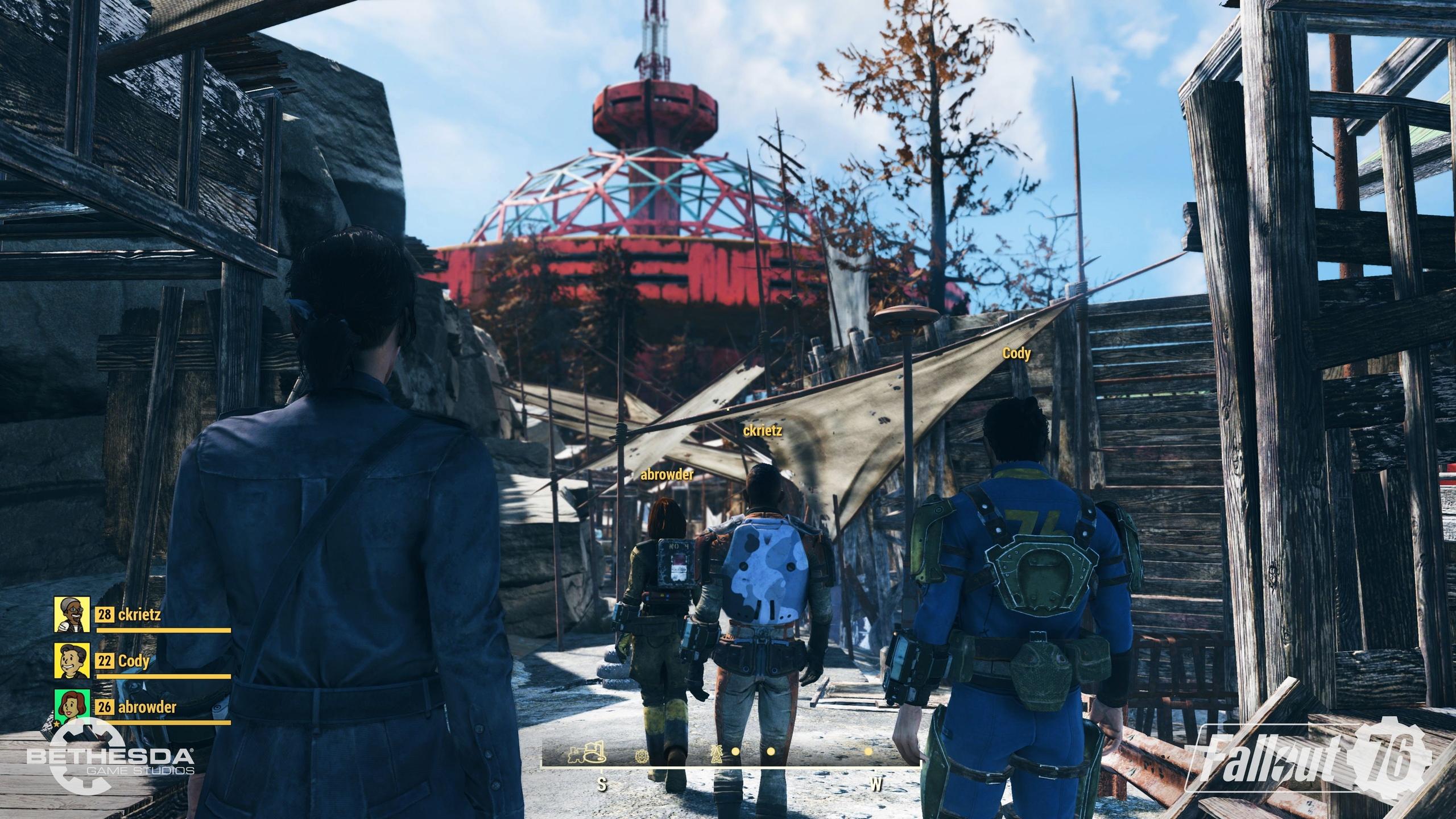 Игроки Fallout 76 создадут свои братства и банды рейдеров.