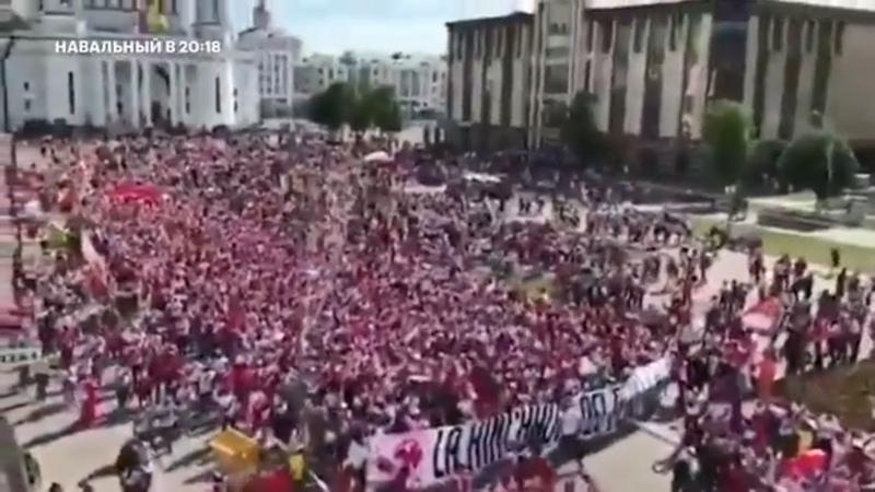 Навальный - Как жаль, что иностранцы скоро уезжают! или о футбольных болельщиках