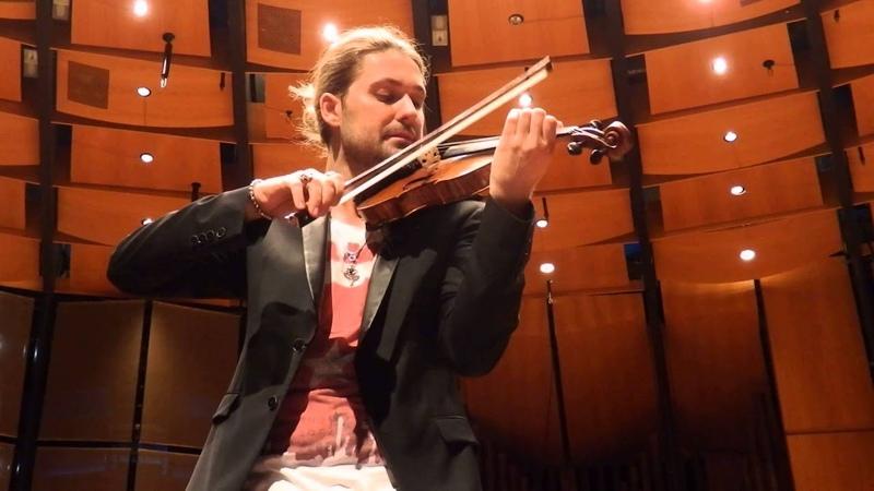 David Garrett, Vivaldi - Winter,19.05.2014 Düsseldorf Tonhalle