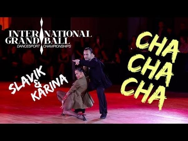 Slavik Kryklyvyy Karina Smirnoff IGB 2018 San Fransisco WDC Cha Cha Showdance