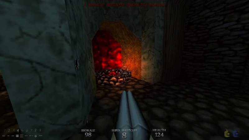 Dusk Episode 3 - Part 4 The Nameless City Crypt of the Flesh e3m4