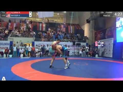 Yasar Dogu 2018: Kyle Frederick SNYDER (USA) - Riza YILDIRIM (TUR)