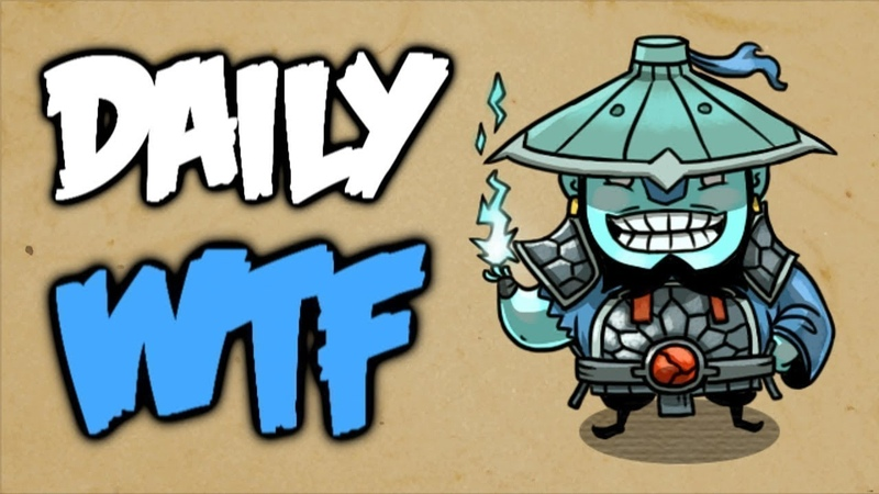 Dota 2 Daily WTF - Fat Bloodstone needs your help!