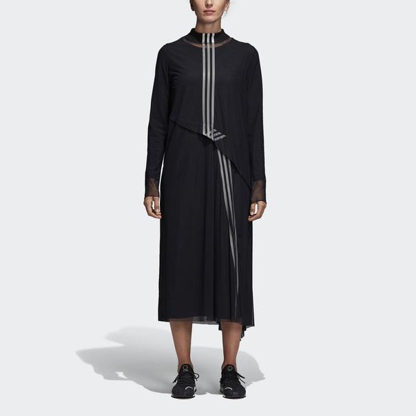 Платье Y-3 Mesh 3-Stripes