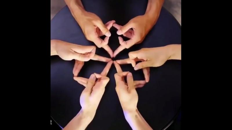 Калейдоскоп рук