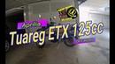 Aprilia ETX Tuareg 125 vintage Off Road motorcycle Adventure sentiero del Tasso