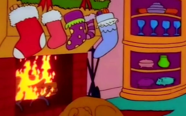 The Simpsons   s09e10   Miracle on Evergreen Terrace