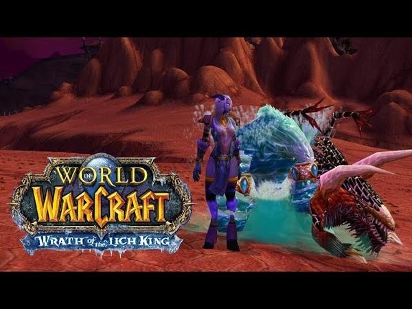 World of Warcraft Lich King 3.3.5 Isengard x2 прохождение за фрост мага 23 Жёсткие элитки