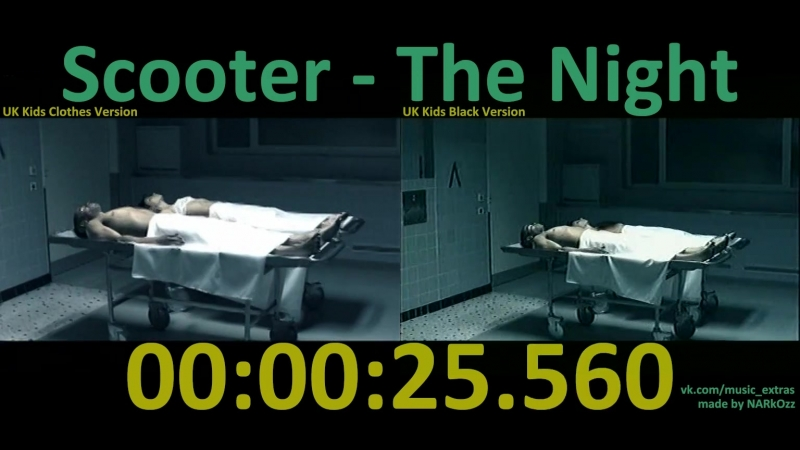 Scooter - The Night (2003) (UK Kids Clothes Version x UK Kids Black Version)