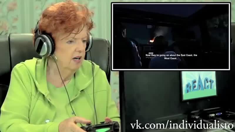 [iDуалист] Реакция стариков на The Last of Us | Иностранцы пенсионеры играют в игру Последние из нас