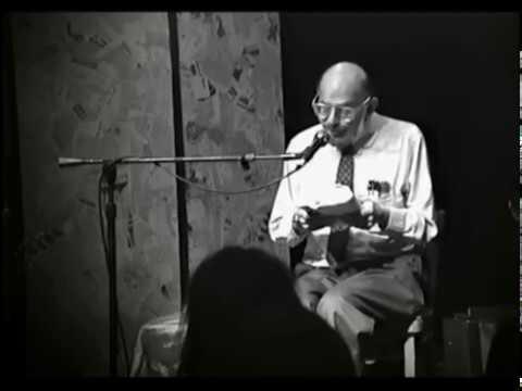 Allen Ginsberg Knitting Factory 1: Howl