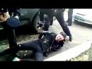 В Глазове для задержания нетрезвого водителя сотрудники полиции применили слезоточивый газ