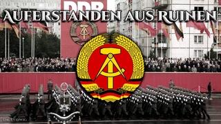Auferstanden aus Ruinen ✠ [Anthem of the GDR][+ english translation]