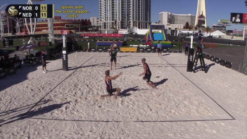 Mol.ASørum (NOR) vs. VarenhorstBouter (NED) FIVBP1440 Las Vegas Pool Final