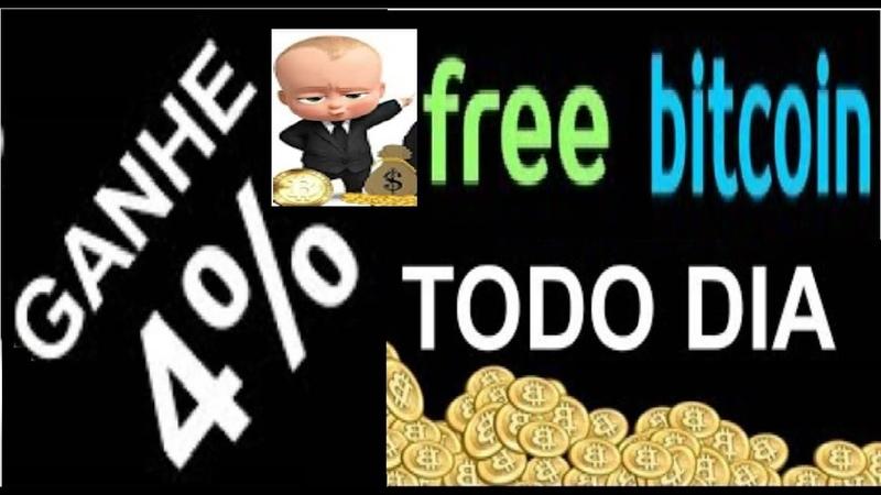 【FREEBITCOIN】 ►Veja como ganhar bitcoin free | Ganhe 4 todos os dias juros composto