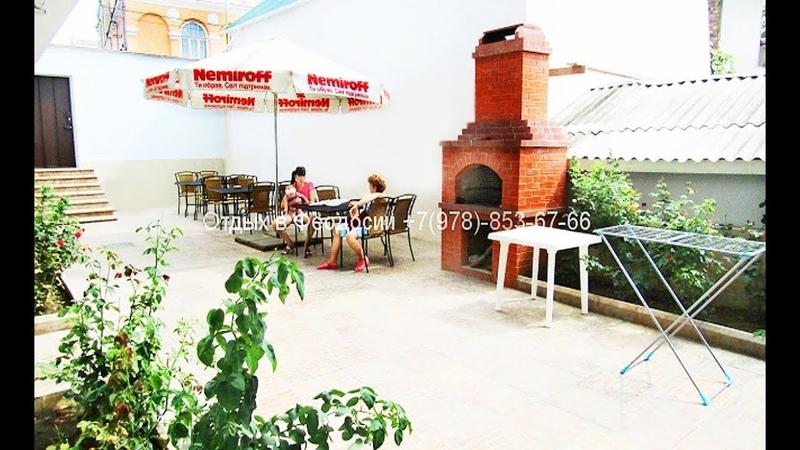Гостиница Феодосии по ул. Семашко однокомнатные трёхместные номера рядом с морем