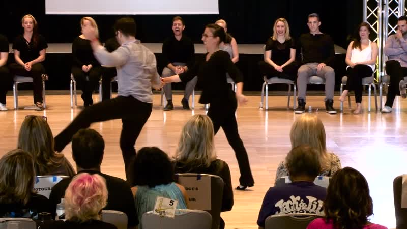 Ben Morris Torri Zzaoui - Boogie by the Bay 2018 Champions Strictly Swing 1st Place