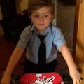 "Denisehoran on Instagram: ""Happy birthday uncle Niall love you Theo xxx hugs and kisses #love #birthday @niallhoran"""