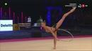 Aleksandra Soldatova Euskalgym 2018 Hoop