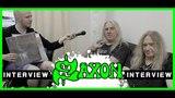 Saxon Thunderbolt Rock Hard Interview Biff Byford Doug Scarratt metal-heads.de