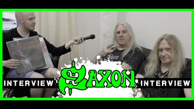 Saxon Thunderbolt Rock Hard Interview Biff Byford Doug Scarratt metal