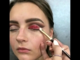 Бомбезный вамп - макияж ❤💣