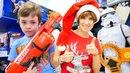 Челлендж игрушки для мальчиков от Игробоя Глеба и Маши КапукиКануки. Подарки для подписчиков