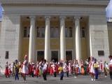 Флешмоб, посвященный Дню России (режиссер-постановщик Наталья Махинина)