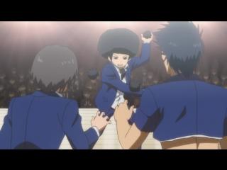 [AnimeOpend] Danshi Koukousei no Nichijou 1 Ending (NC) [Повседневная жизнь стар.mp4