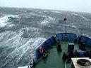 НИС Мезень. Шторм в Беринговом море, в ноябре..