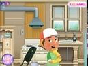 Мультик игра Умелец Мэнни ремонтирует дом (Handy Manny Fix The House)