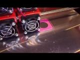 Печать на двухэкструдерном 3D принтере Magnum creative 2 PRO