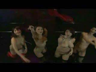 Club of japanese girls naked - Dance