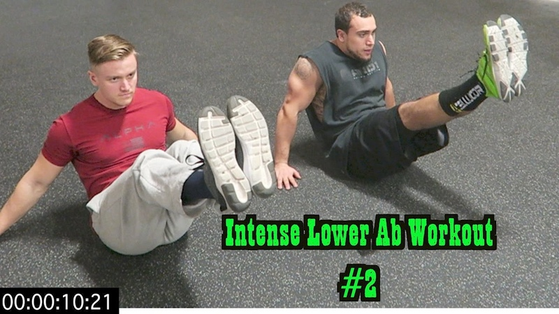 Intense 5 Minute At Home Lower Ab Workout 2