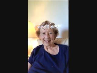 Синтия Грант (бабушка Ланы по папе)