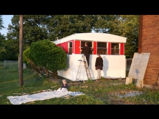 Its DONE - Amazing Mobile Home Makeover! (Exterior)