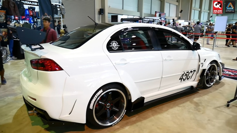 Mitsubishi Lancer GT Wide Body by Chemical Guys Borneo Kustom Show 2017
