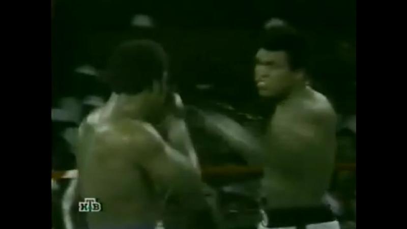 Muhammad Ali vs George Foreman Без преувеличения один из лучших боев в истории мирового бокса