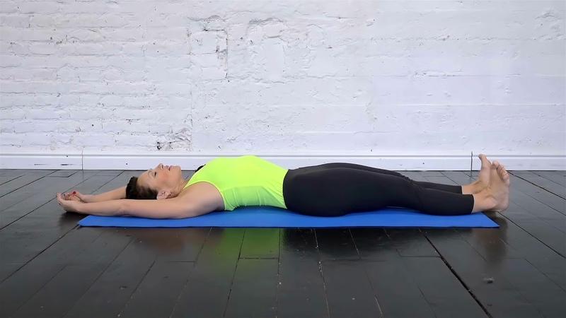 Урок 11 Вытяжение позвоночника лежа на спине