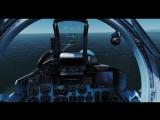 Су-33 посадка на авианосец CVN-John Stennis...
