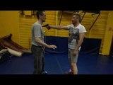 С А О Стрела  Тренировка на костылях 2