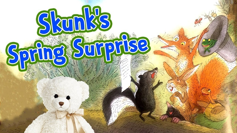 Kids Book Read Aloud - Skunk's Spring Surprise by Leslea Newman - Storytime With Ms. Becky