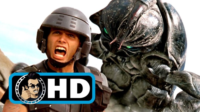 Tanker Bug STARSHIP TROOPERS Movie Clip 1997 Sci Fi Action Movie HD