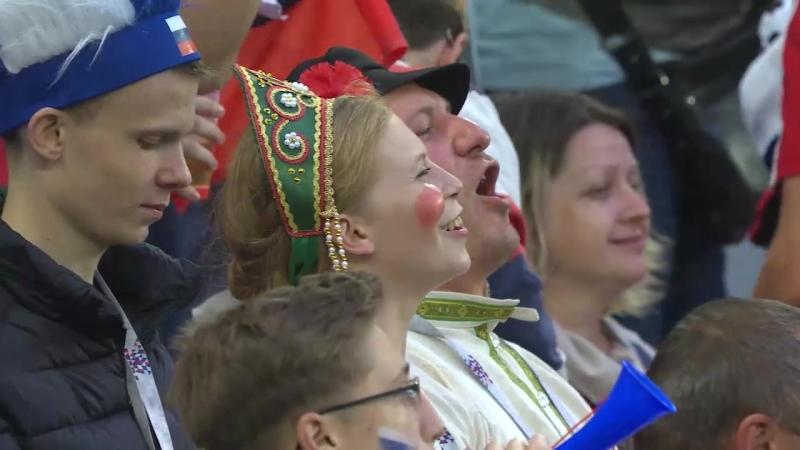 Россия отмечает выход в плей-офф
